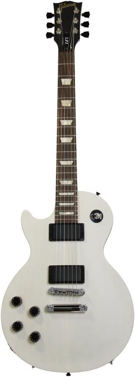 Gibson Les Paul LPJ Left Hand - Rubbed White Satin  image 1