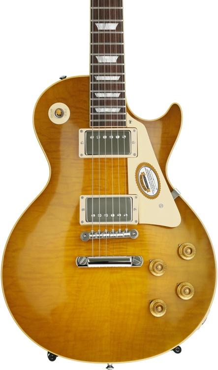 Gibson Custom True Historic 1960 Les Paul Reissue - Vintage Lemon Burst image 1