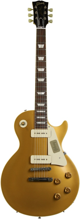 Gibson Custom 1956 Les Paul Goldtop - Antique Gold, Lightly Aged image 1