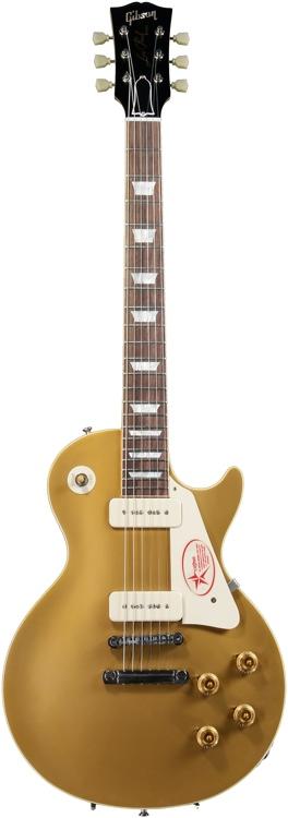 Gibson Custom 1956 Les Paul Goldtop VOS - Antique Gold image 1