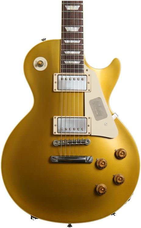 Gibson Custom 1957 Les Paul Goldtop VOS -2013 - Antique Gold image 1