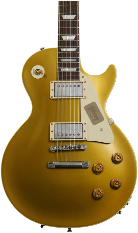 Gibson Custom 1957 Les Paul Goldtop Dark Back VOS image 1