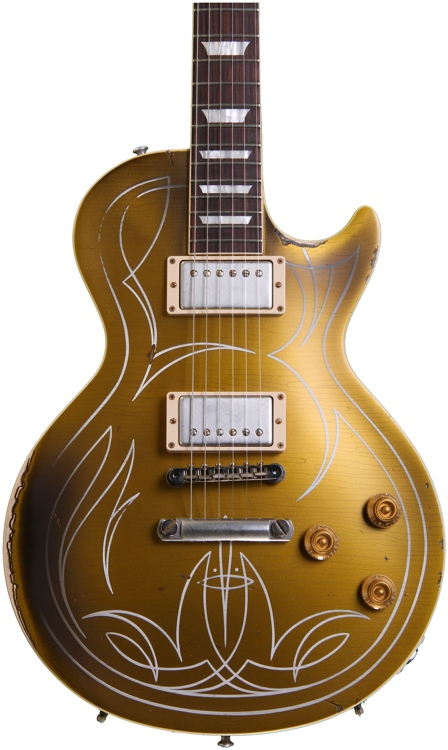Gibson Custom Billy Gibbons Les Paul Goldtop Aged image 1