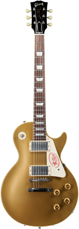 Gibson Custom 1957 Les Paul Goldtop VOS - Antique Gold image 1