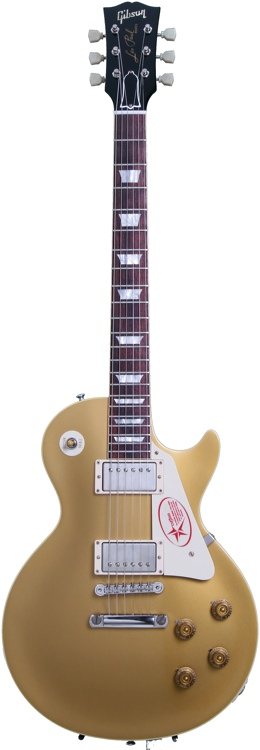 Gibson Custom 1957 Les Paul Goldtop Darkback Reissue VOS - Antique Gold image 1