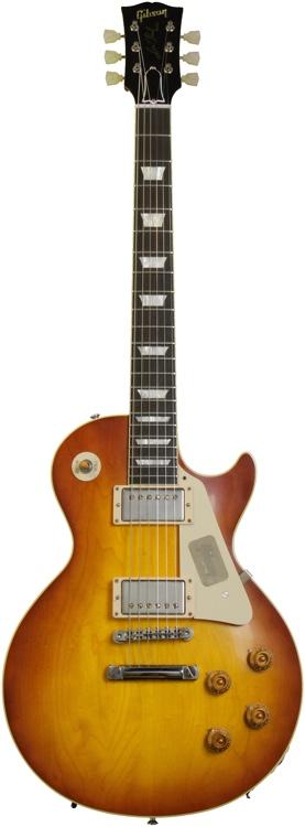Gibson Custom 1958 Les Paul Plaintop Reissue VOS - Ice Tea image 1