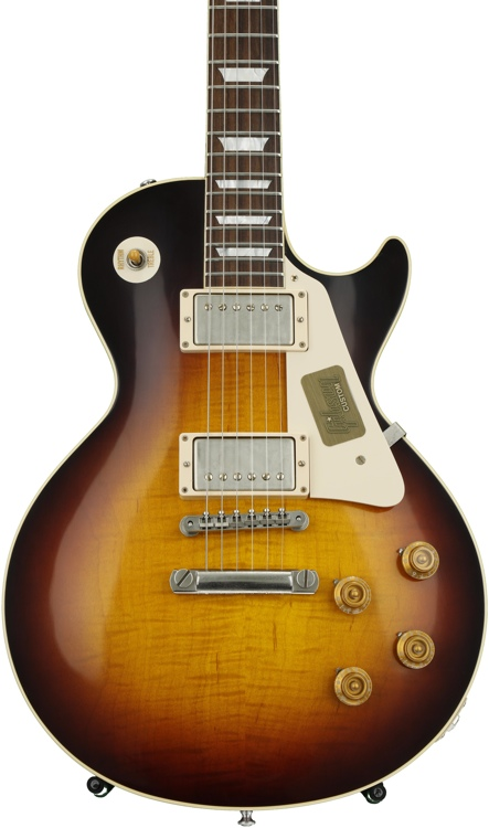Gibson Custom Standard Historic 1958 Les Paul - Faded Tobacco VOS image 1