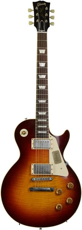 Gibson Custom 1959 Les Paul Reissue - Dark Cherry Burst, VOS image 1