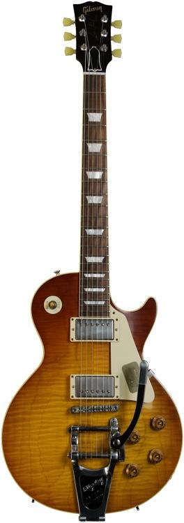 Gibson Custom 1959 Les Paul Reissue - Lemon Burst, Bigsby image 1
