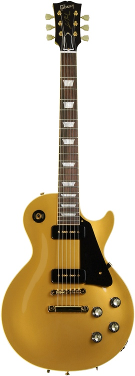 Gibson Custom 1956 Les Paul Reissue - Gold Top with Natural Back image 1