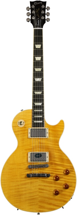 Gibson Les Paul Standard Premium - Trans Amber, AAAA Flame Maple image 1