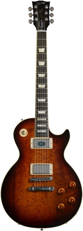 Gibson Les Paul Standard Premium - Desert Burst, AAA Birdseye image 1