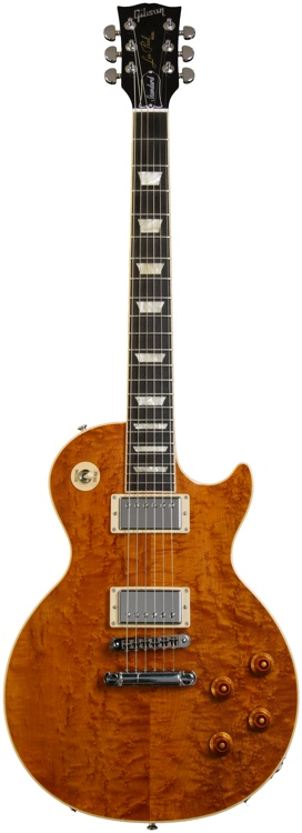 Gibson Les Paul Standard Premium - Trans Amber, AAA Birdseye Maple image 1
