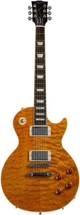 Gibson Les Paul Standard Premium - Trans Amber, AAA Quilt Maple image 1