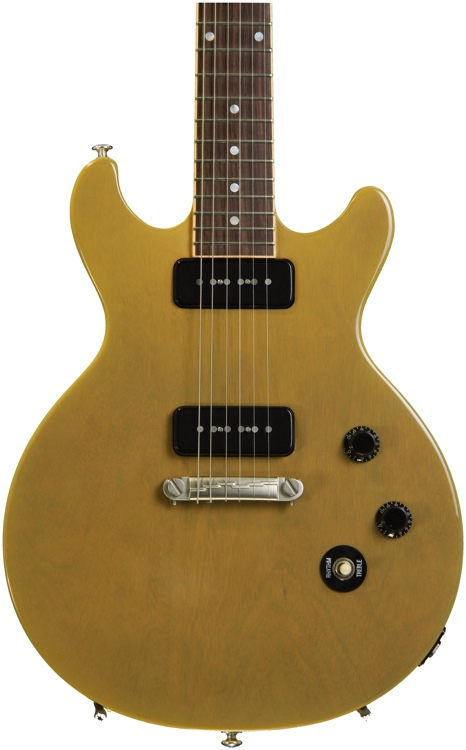 gibson les paul special double cut trans yellow sweetwater. Black Bedroom Furniture Sets. Home Design Ideas