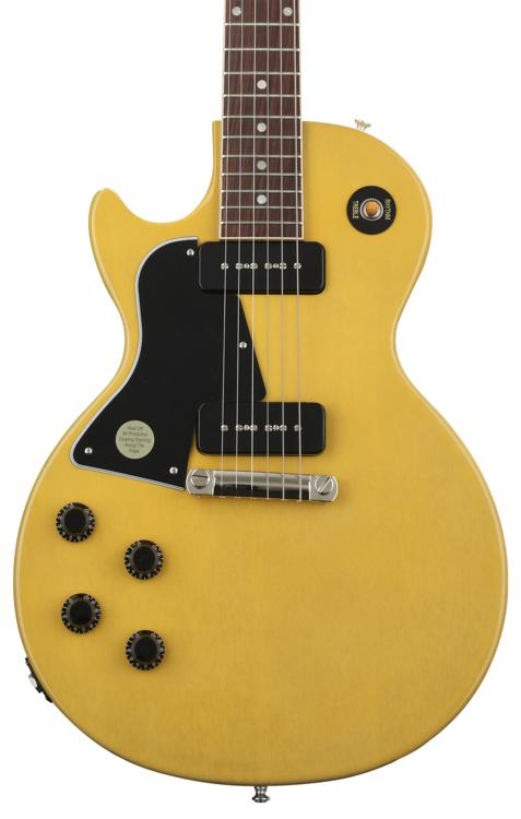 2020 Gibson Les Paul Special Electric Guitar in TV Yellow