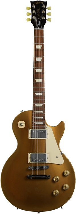 Gibson Les Paul Studio - Gold top dark back image 1
