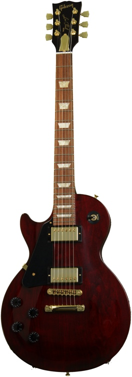 Gibson Les Paul Studio 2013 Gold Series Left Hand - Wine Red image 1
