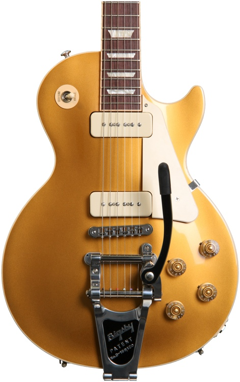 Gibson Les Paul Traditional - Gold top w/P90s image 1