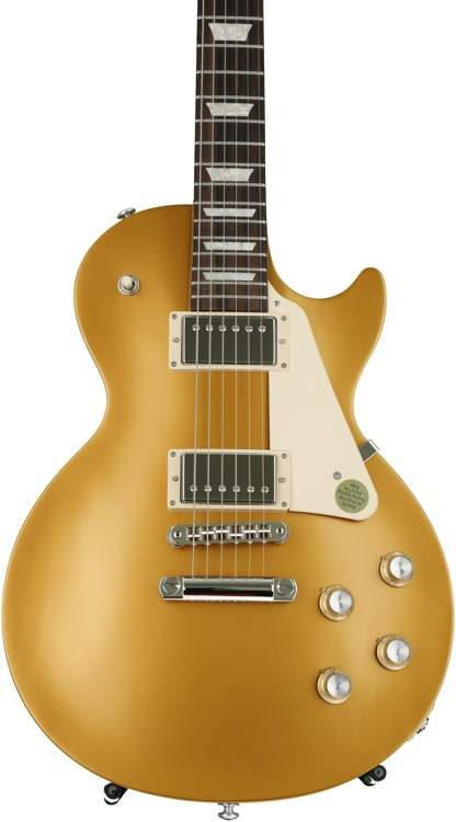 gibson les paul tribute 2017 t satin gold top sweetwater. Black Bedroom Furniture Sets. Home Design Ideas