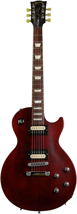 Gibson Les Paul Tribute Future Min-ETune - Wine Red Vintage Gloss image 1