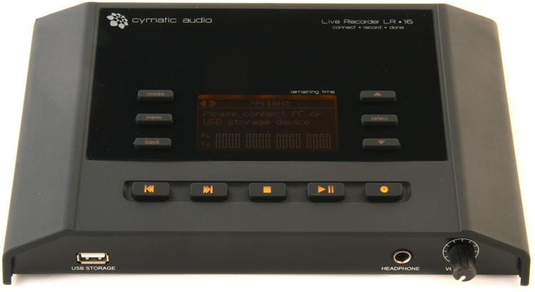 Cymatic Audio LR-16 Live Recorder image 1