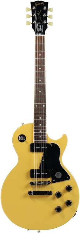 Gibson Les Paul Junior Special P-90 - Satin Yellow image 1