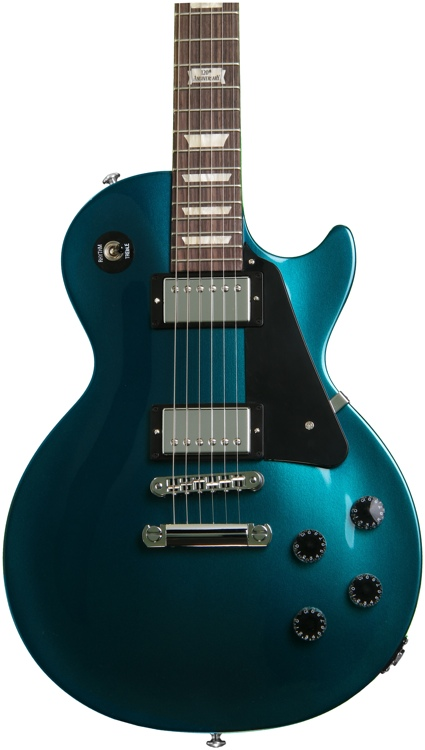 Gibson Les Paul Studio Pro - 2014, Teal Blue Candy image 1