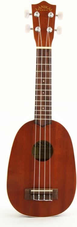 Lanikai LU-21P Soprano Size Pineapple - Bag, Strings image 1
