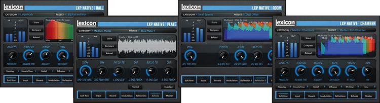 Lexicon LXP Native Reverb Plug-in Bundle (boxed) image 1