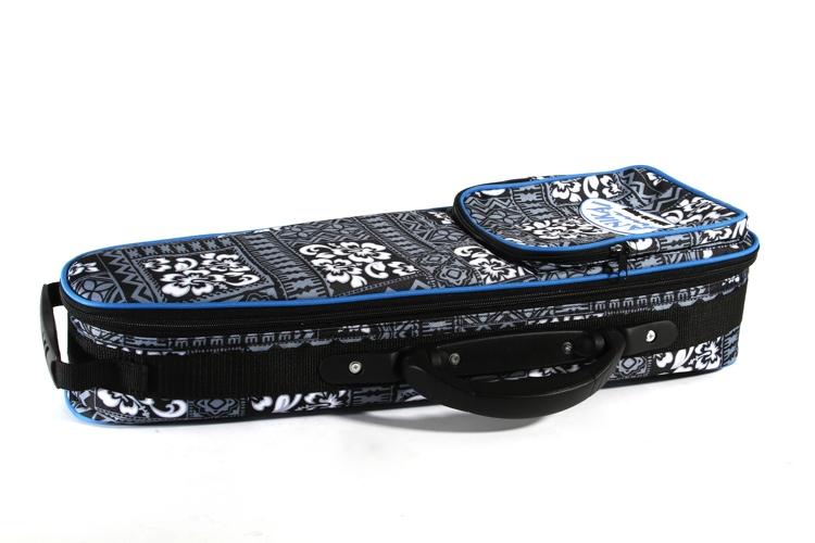Lanikai Soprano Ukulele Hard Bag - Tribal Pattern image 1