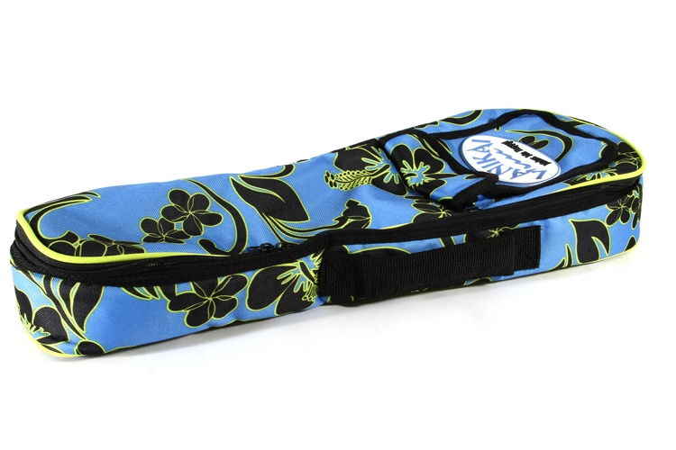Lanikai Soprano Ukulele Gig Bag - Floral Pattern image 1