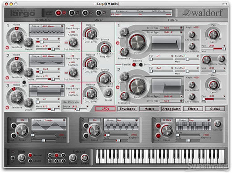 Waldorf Largo Synthesizer image 1