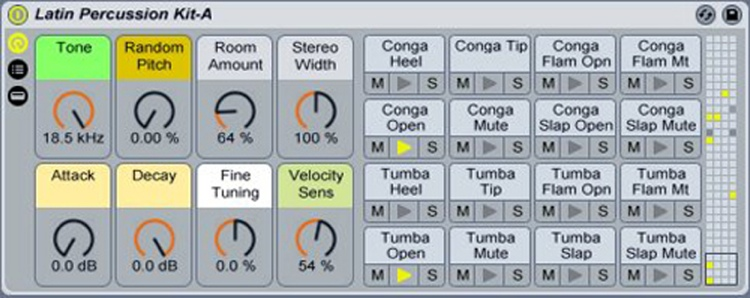 Ableton Latin Percussion Instrument Pack for Live image 1
