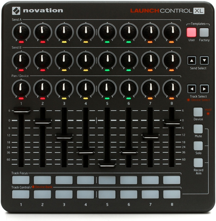 Novation Launch Control XL - Gray image 1
