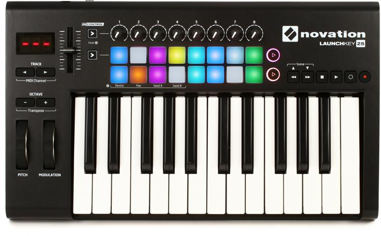 Novation Launchkey 25 Keyboard Controller image 1