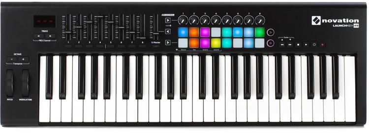novation launchkey 49 keyboard controller sweetwater. Black Bedroom Furniture Sets. Home Design Ideas