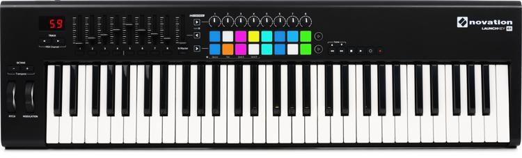 Novation Launchkey 61 Keyboard Controller image 1