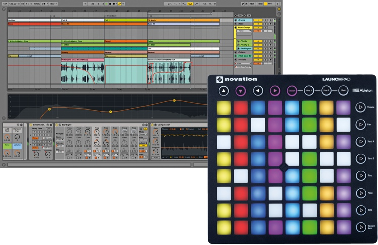 Novation Launchpad with Live 9.5 Suite image 1