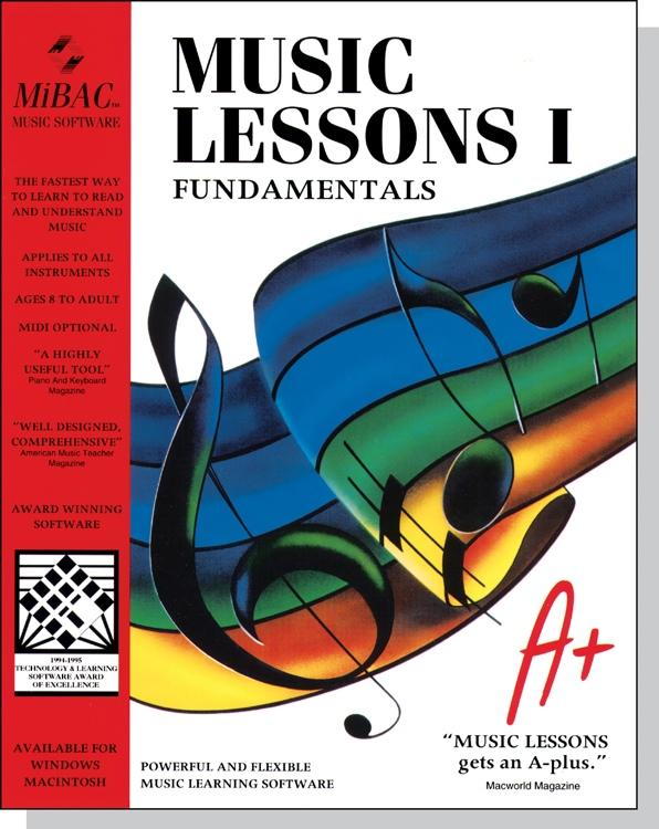 MIBAC Music Software Music Lessons I image 1