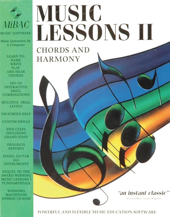 MIBAC Music Software Music Lessons II image 1