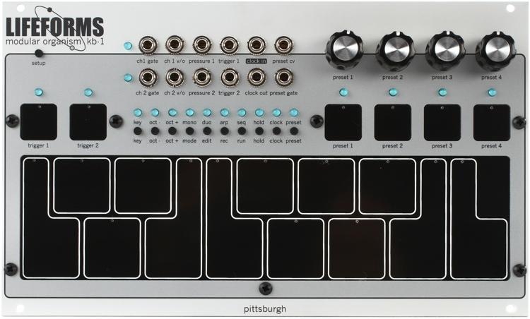 Pittsburgh Modular Lifeforms KB-1 Eurorack Pressure-sensitive Keyboard Controller Module image 1