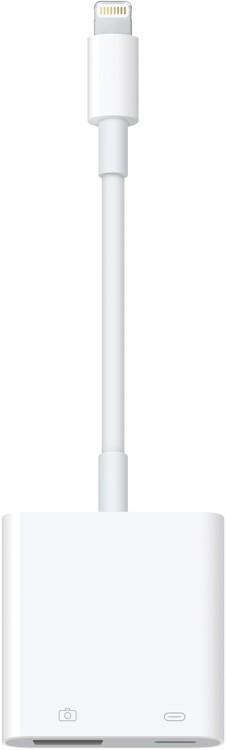 Apple Lightning to USB 3 Camera Adapter image 1