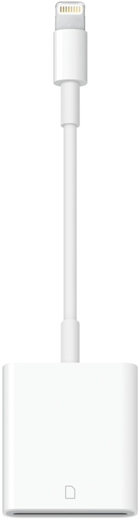 Apple Lightning to SD Card Reader image 1