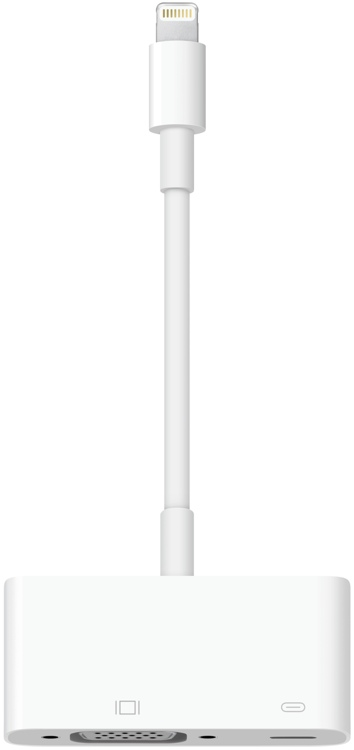 Apple Lightning to VGA Adapter image 1