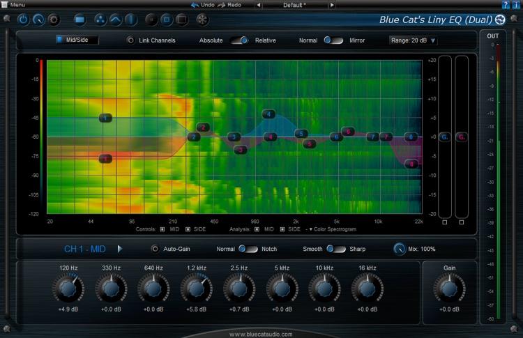 Blue Cat Audio Liny EQ 5 image 1