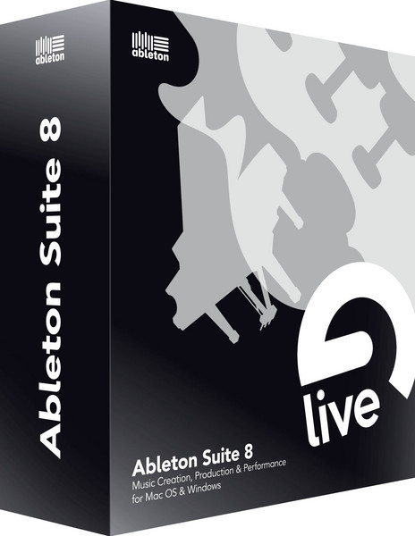 Ableton Suite 8.2 Upgrade from Live 8.x image 1