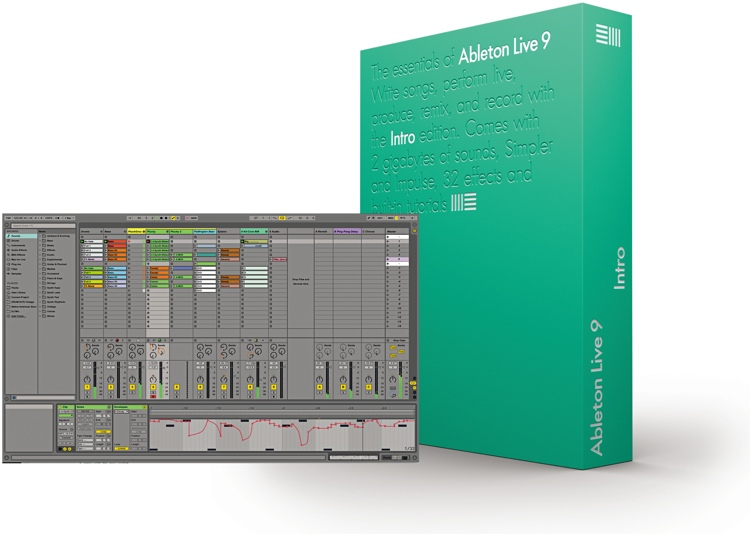 Ableton Live 9 Intro (boxed) image 1