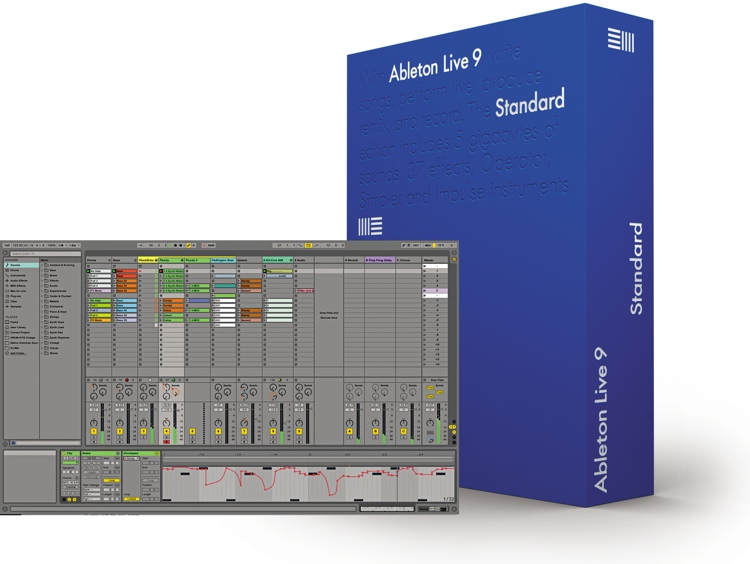 Ableton Live 9 Standard (boxed) image 1