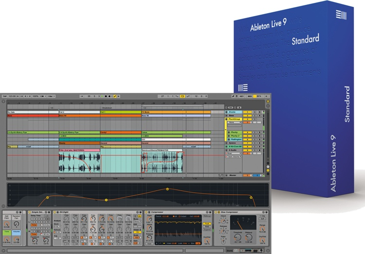 Ableton Live 9 Standard - Academic Version (download) image 1